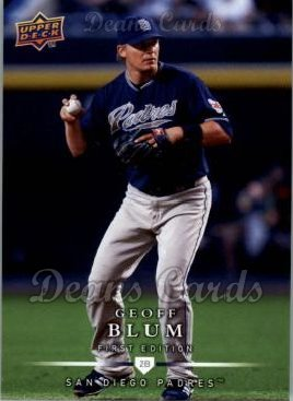 2008 Upper Deck First Edition #155  Geoff Blum