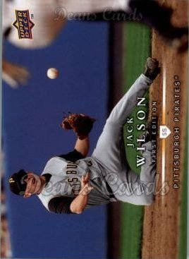 2008 Upper Deck First Edition #171  Jack Wilson