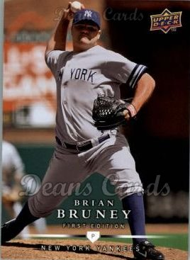 2008 Upper Deck First Edition #246  Brian Bruney