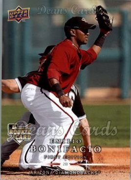2008 Upper Deck First Edition #257  Emilio Bonifacio
