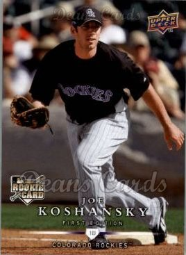 2008 Upper Deck First Edition #274  Joe Koshansky