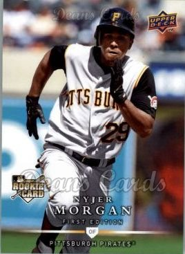 2008 Upper Deck First Edition #280  Nyjer Morgan