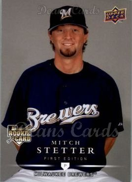 2008 Upper Deck First Edition #294  Mitch Stetter