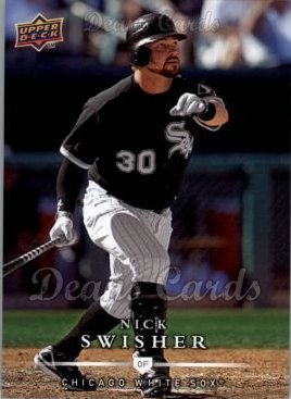 2008 Upper Deck First Edition #337  Nick Swisher