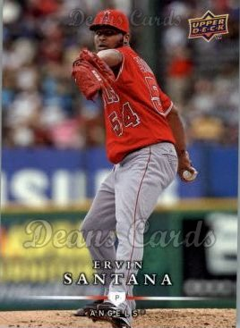 2008 Upper Deck First Edition #378  Ervin Santana