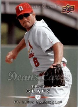 2008 Upper Deck First Edition #473  Troy Glaus