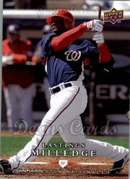 2008 Upper Deck First Edition #493  Lastings Milledge