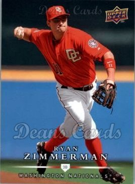 2008 Upper Deck First Edition #495  Ryan Zimmerman