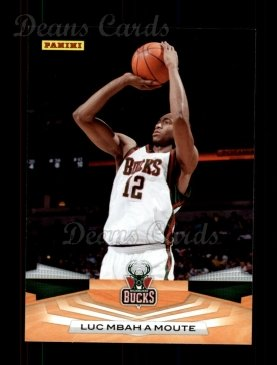 2009 Panini #100  Luc Mbah a Moute