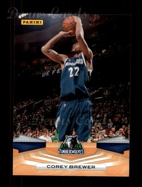 2009 Panini #212  Corey Brewer
