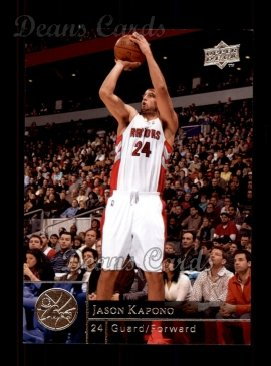 2009 Upper Deck #185  Jason Kapono