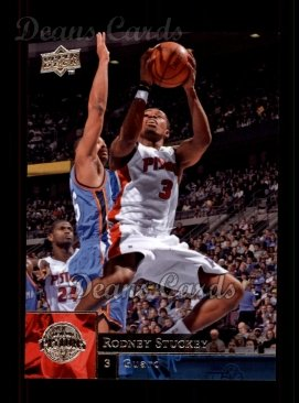 2009 Upper Deck #50  Rodney Stuckey