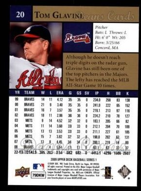 2009 Upper Deck #20  Tom Glavine