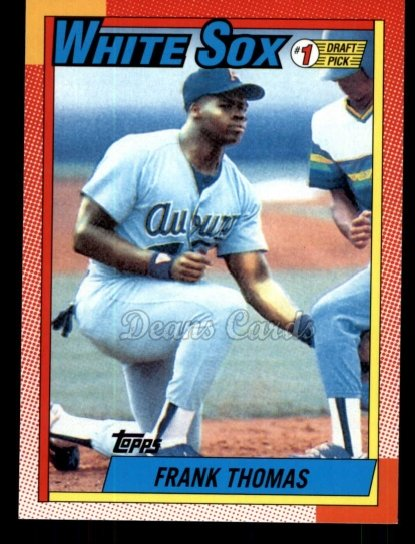 2010 Topps Cards Your Mom Threw Out #39 CMT Frank Thomas