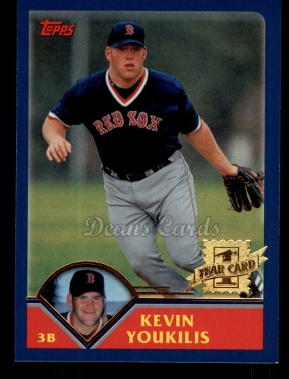 2010 Topps Cards Your Mom Threw Out #52 CMT Kevin Youkilis