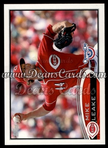 2012 Topps Opening Day #103  Mike Leake