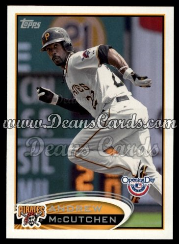 2012 Topps Opening Day #144  Andrew McCutchen
