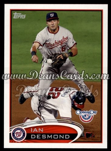 2012 Topps Opening Day #146  Ian Desmond