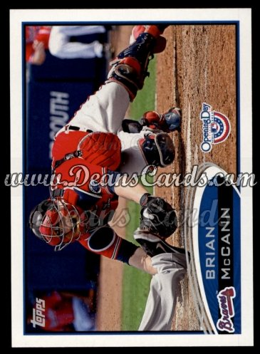 2012 Topps Opening Day #174  Brian McCann