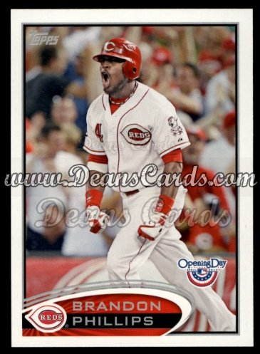 2012 Topps Opening Day #219  Brandon Phillips
