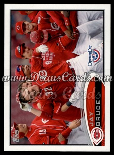 2012 Topps Opening Day #44  Jay Bruce