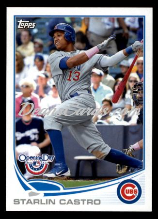 2013 Topps Opening Day #54  Starlin Castro