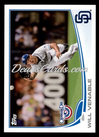 2013 Topps Opening Day #65  Will Venable