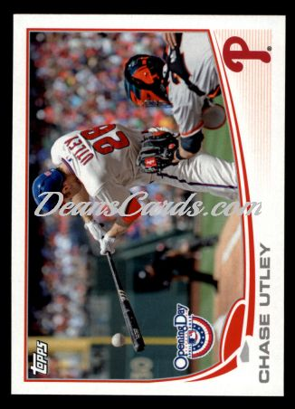 2013 Topps Opening Day #112  Chase Utley
