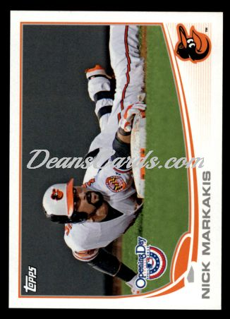 2013 Topps Opening Day #121  Nick Markakis