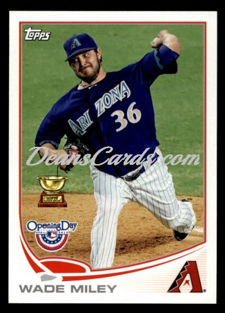 2013 Topps Opening Day #179  Wade Miley