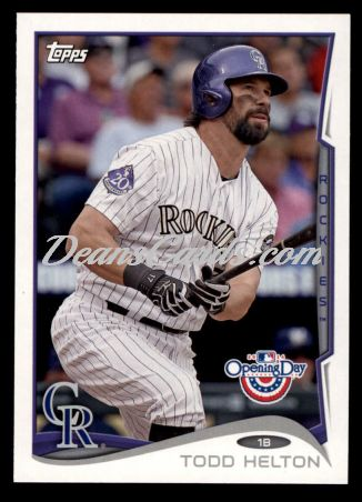 2014 Topps Opening Day #46  Todd Helton