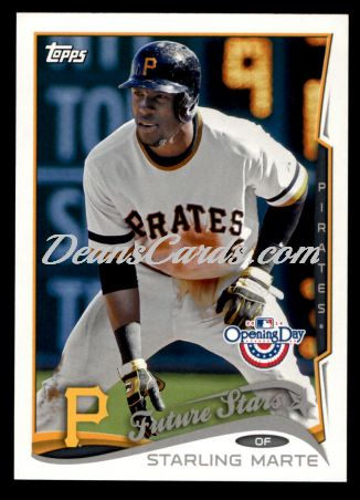 2014 Topps Opening Day #63  Starling Marte