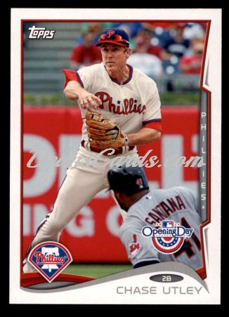 2014 Topps Opening Day #119  Chase Utley