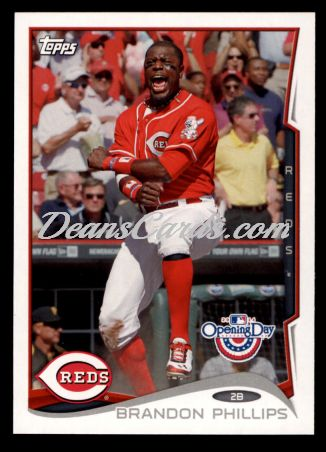 2014 Topps Opening Day #121  Brandon Phillips