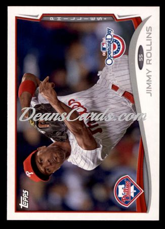 2014 Topps Opening Day #157  Jimmy Rollins