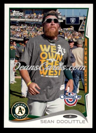2014 Topps Opening Day #167  Sean Doolittle