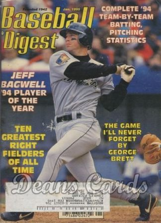 1995 Baseball Digest    January