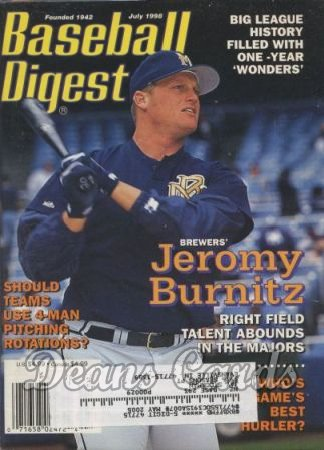1998 Baseball Digest    July