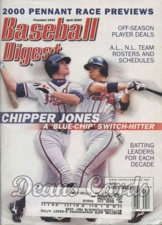 2000 Baseball Digest    April