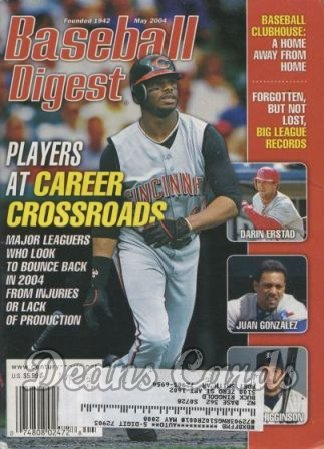 2004 Baseball Digest   -  Ken Griffey Jr.  May