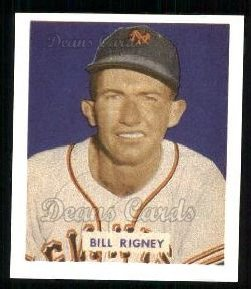 1949 Bowman REPRINT #170  Bill Rigney