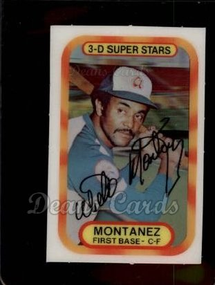 1977 Kellogg's #31  Willie Montanez