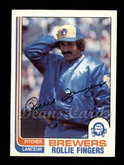 1982 O-Pee-Chee #176  Rollie Fingers