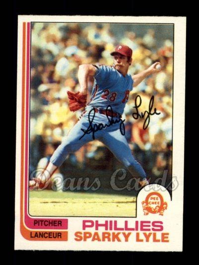 1982 O-Pee-Chee #285  Sparky Lyle