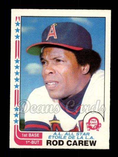 1982 O-Pee-Chee #36   -  Rod Carew All-Star