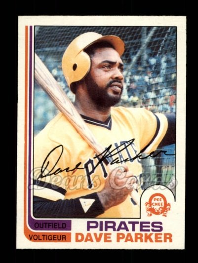 1982 O-Pee-Chee #40  Dave Parker