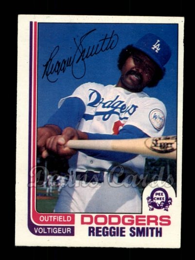 1982 O-Pee-Chee #5  Reggie Smith