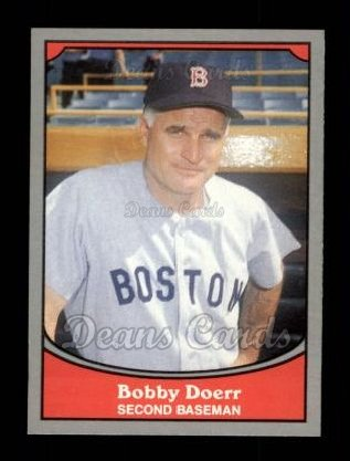 1990 Pacific Legends #21  Bobby Doerr