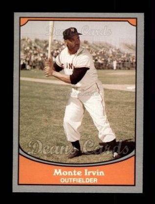 1990 Pacific Legends #32  Monte Irvin