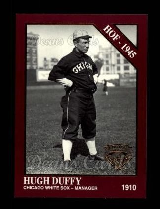 1994 Conlon Burgundy #1014   -  Hugh Duffy Hall-of-Fame
